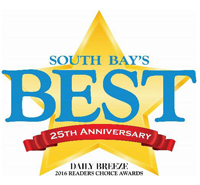 Star - South Bays Best 25th Anniversary Daily Breeze 2016 Readers Choice Awards