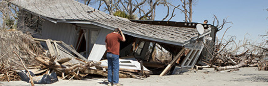 Home Destroyed In Disaster Not Insured